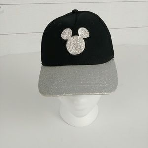 Disney Youth Glitter Mickey Mouse Ball Cap